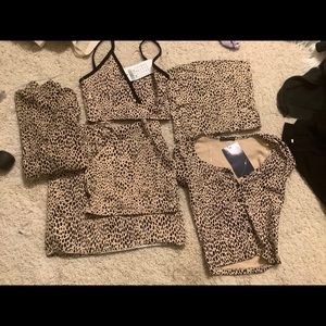 Brandy Melville cheetah collection